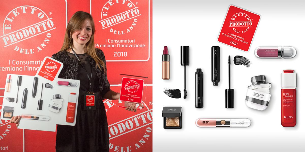 kiko makeup dell'anno