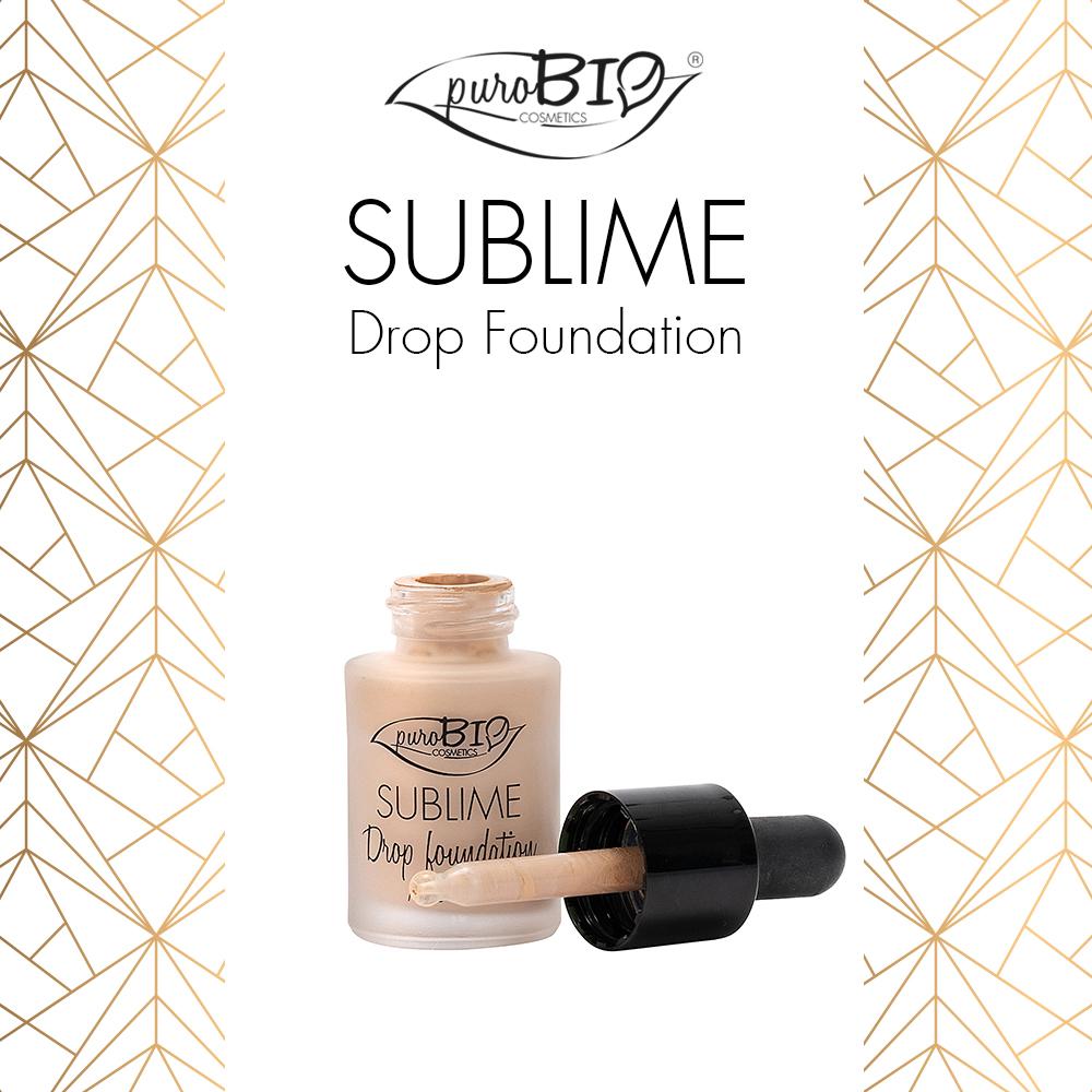 sublime drop foundation PUROBIO