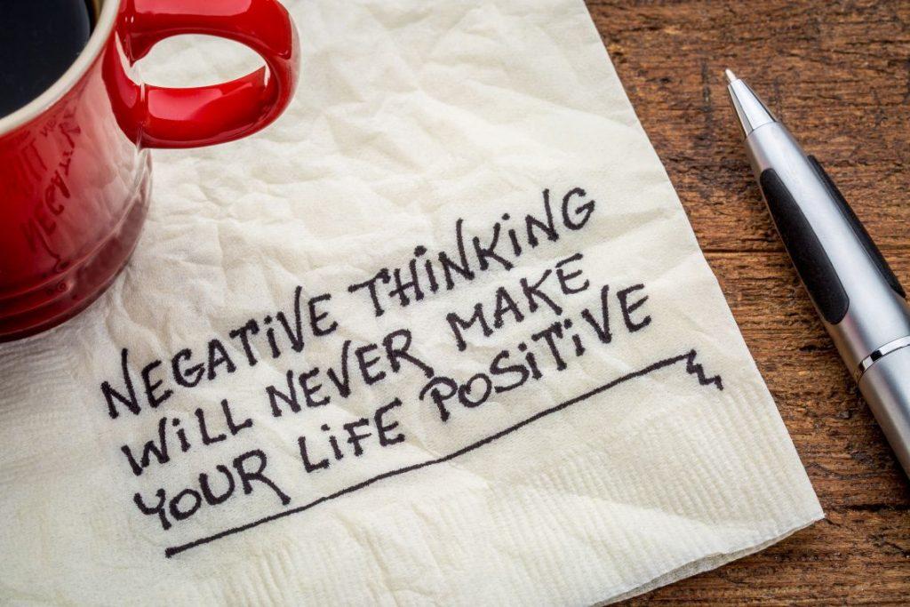 Pensieri negativi